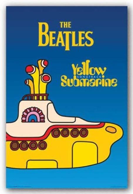 The Beatles (Yellow Submarine) Music Poster Print (24x36)