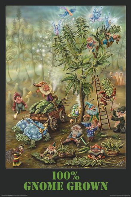 Gnome Grown Poster 24x36