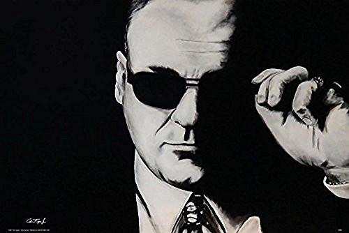 Tony Soprano Sunglasses by Ed Capeau 36x24 Sopranos TV Show Art Print Poster