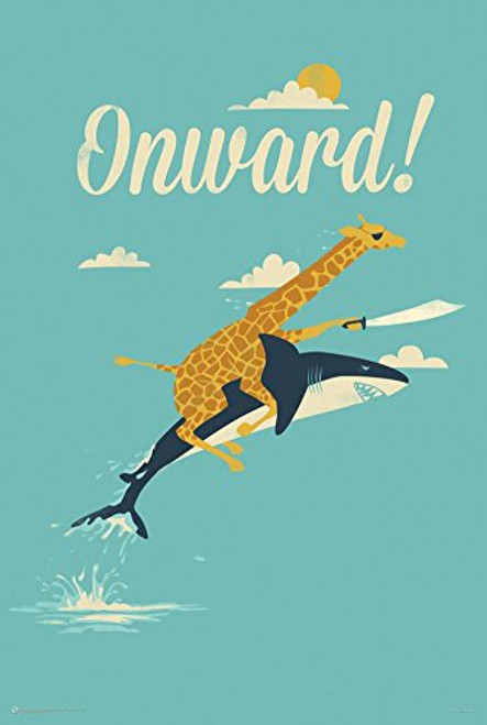 Onward! Poster 24 x 36in