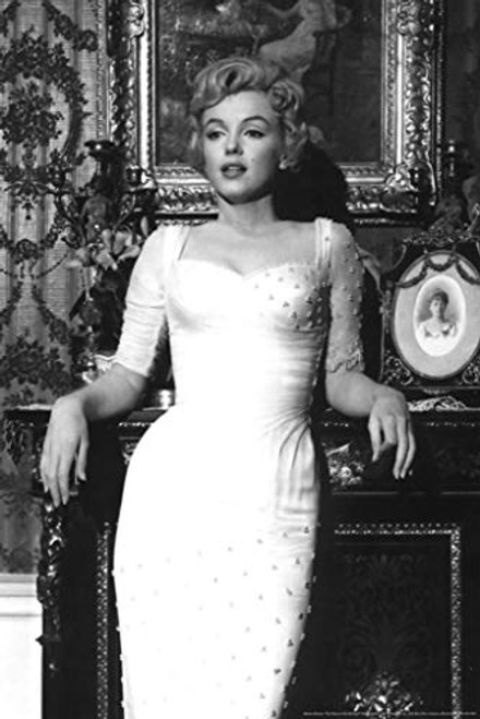 Marilyn Monroe - White Dress Poster Print 24x36