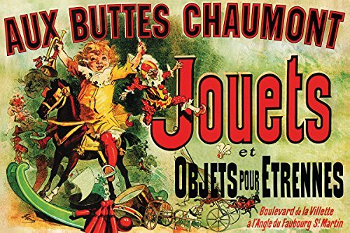 Jouets - Vintage Ad (As Seen on Friends) 36x24 Art Poster Image