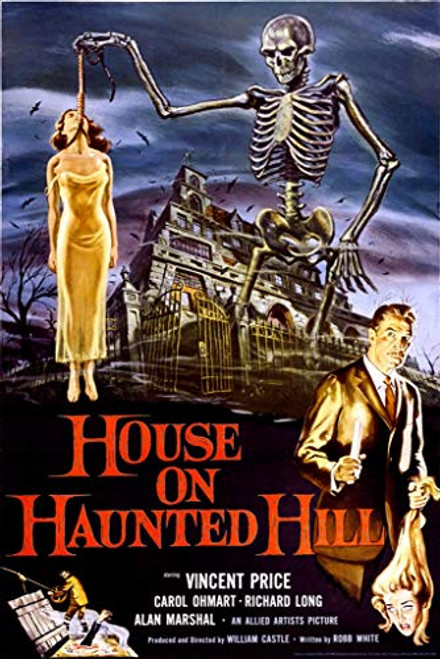 House on Haunted Hill- Vincent Price Poster 24x36