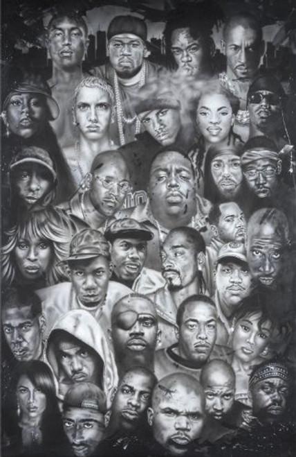 Hip-Hop Poster 24x36