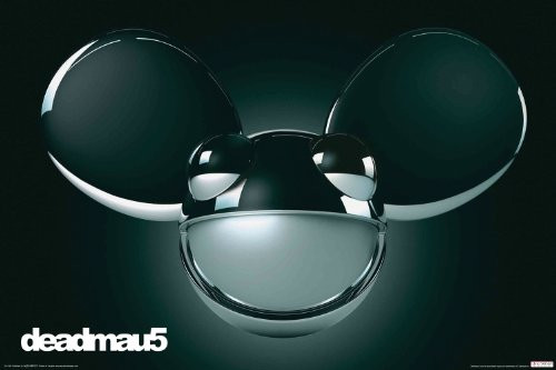Deadmau5 Black Poster, 24 by 36-Inch