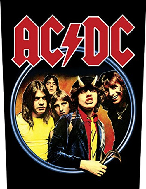 """AC/DC Highway To Hell - Woven Back Patch 11.25"""" x 14"""" Image"""