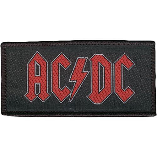 "AC/DC - Woven Sew On Patch 4"" x 2"" Image"