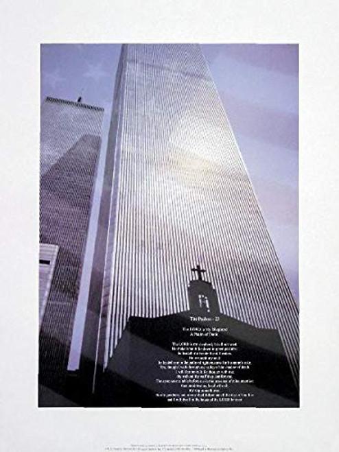 World Trade Center - Psalm 23 Poster (16x20)