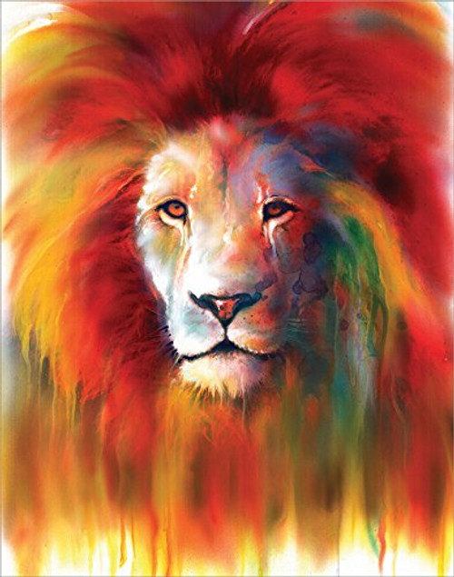 Lion Tears by Sophia - Art Print / Poster 11x14 inches
