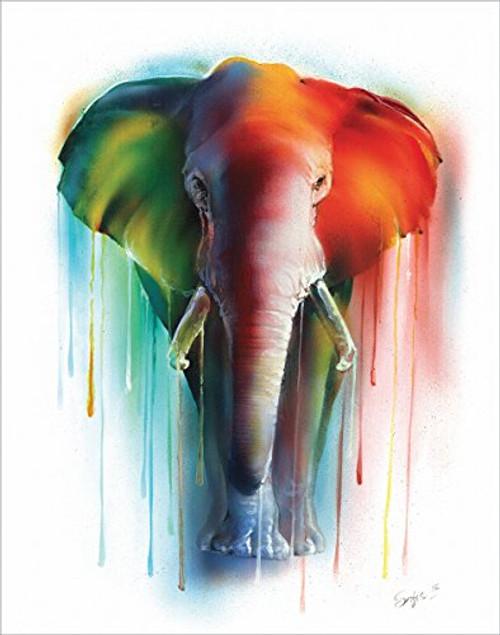Elephant Dreams by Sophia - Art Print / Poster 11x14 inches