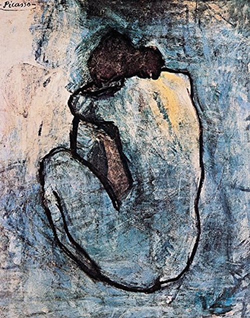 Blue Nude by Pablo Picasso - Art Print / Poster 11x14 inches