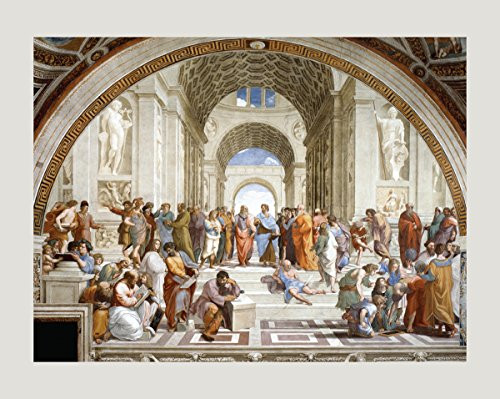 School of Athens by Raphael - Art Print/Poster 11x14 inches
