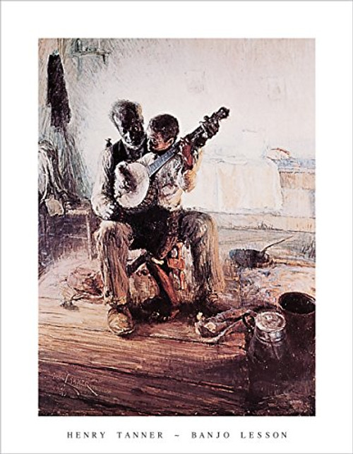 Banjo Lesson by Henry Ossawa Tanner - Art Print/Poster 11x14 inches