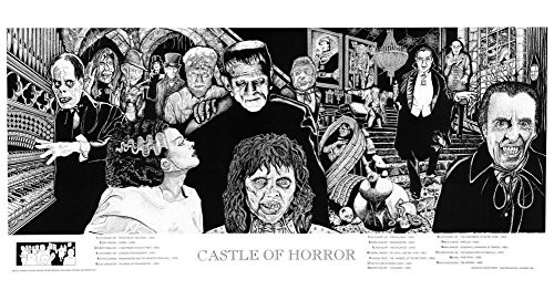 Castle of Horror Poster Poster Print, 36x19