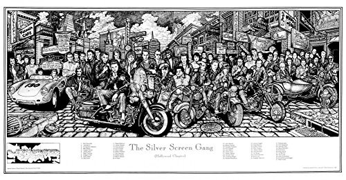The Silver Screen Gang Poster Poster Print, 36x19