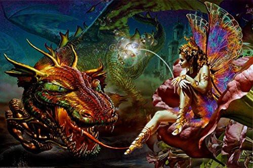 Dragon's Dream Poster 36 x 24in