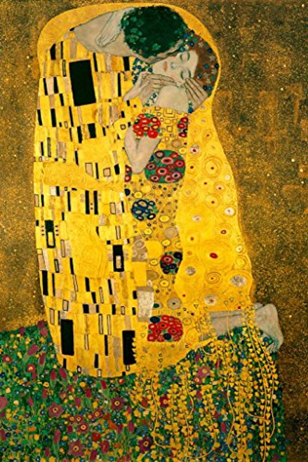 Gustav Klimt The Kiss 1908 Art Print Poster 24x36