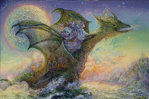 Dragon Ship Poster 36x24