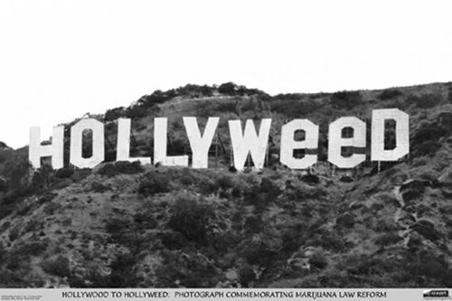 Hollyweed Poster 36x24