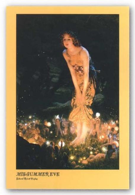 """Midsummer Eve by Edward Robert Hughes 24""""x36"""" Art Print Poster"""