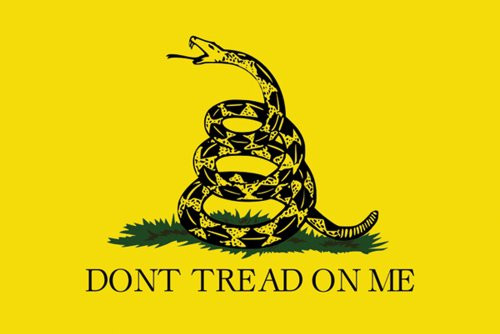 Don't Tread on Me Poster 36x24