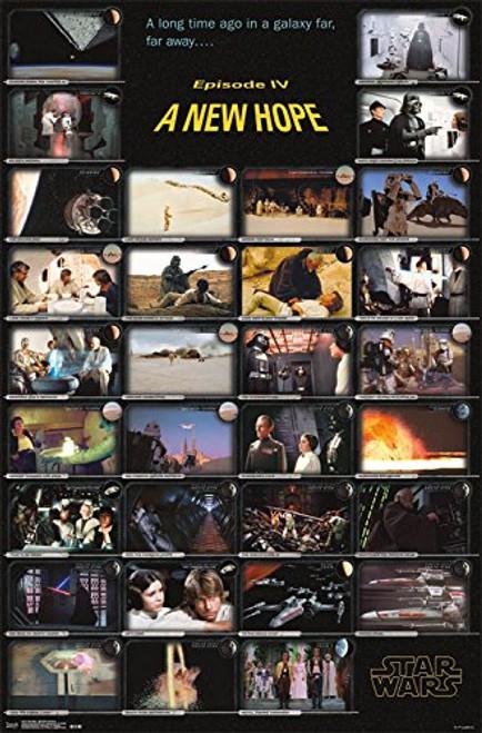 "Star Wars Episode IV Frames Wall Poster 22.375"" x 34"""