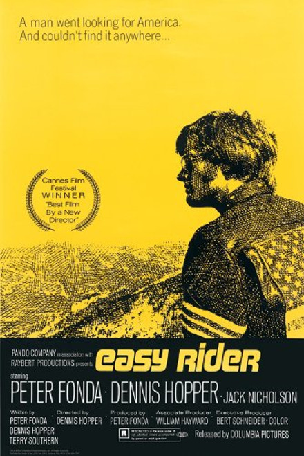Easy Rider One Sheet Poster 24x36