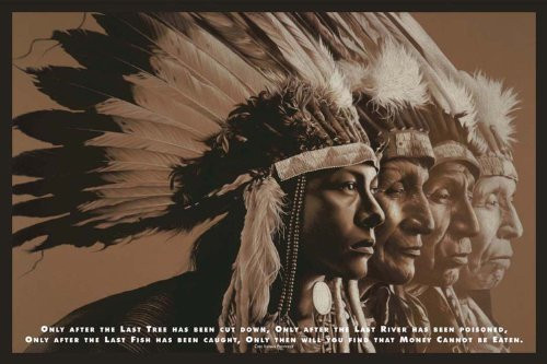 Native Wisdom Poster 36x24