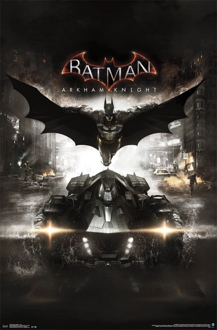 "Arkham Knight Batman - Cover Poster 22.375"" x 24"" Image"