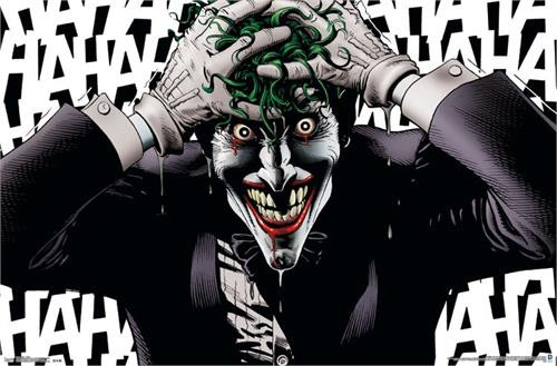 "Joker Crazy Poster 22.375"" x 24"" Image"
