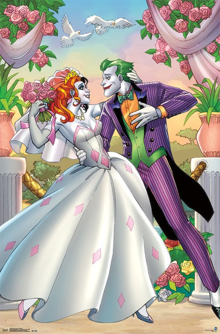 "Harley Quinn - Romance Poster 22.375"" x 24"" Image"