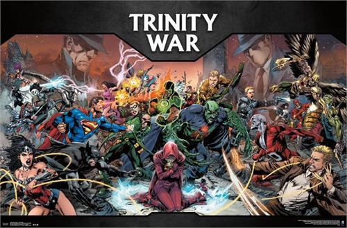 "DC Comics - Trinity War Poster 22.375"" x 24"" Image"