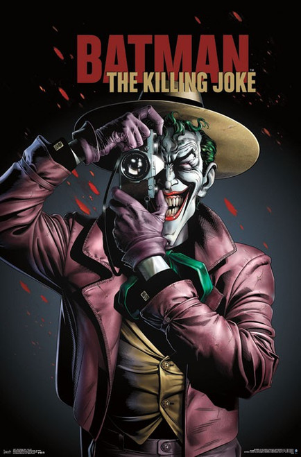 "The Joker Killing Joke - Key Art Poster 22.375"" x 24"" Image"