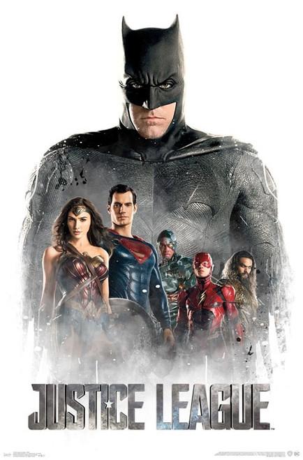 """Justice League - Mist Poster 22.375"""" x 24"""" Image"""