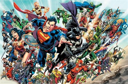 "DC Comics Justice League - Rebirth Poster 22.375"" x 24"" Image"