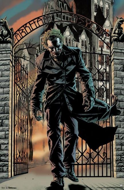 "Joker - Arkham Asylum Poster 22.375"" x 24"" Image"