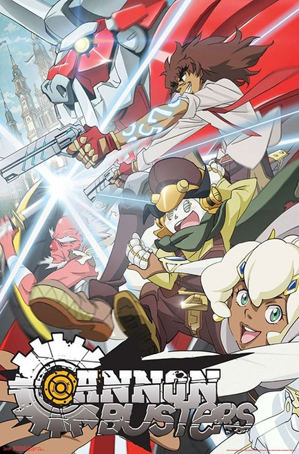 """Cannon Busters Poster - 22.375""""' x 34""""' Image"""