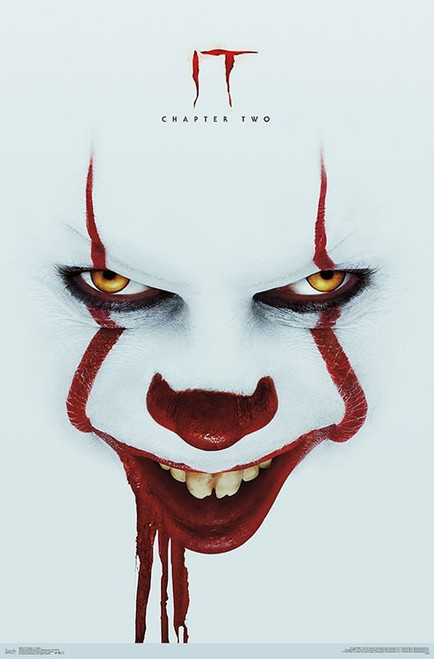 "IT: Chapter 2 - Smile One Poster - 22.375""' x 34""' Image"
