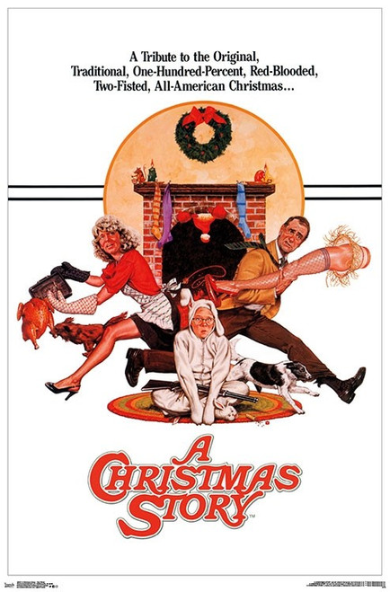 "A Christmas Story - One Sheet Poster - 22.375""' x 34""' Image"
