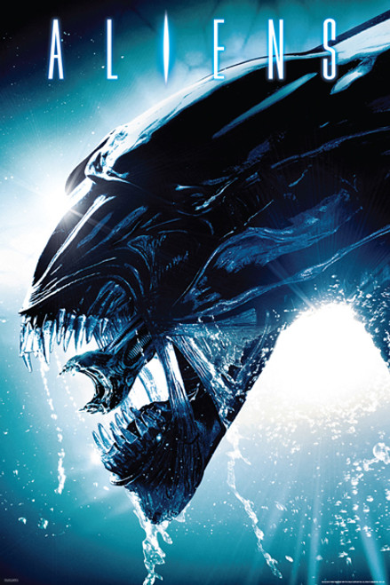 "Aliens – Side Splash Poster 24"" x 36"" Image"