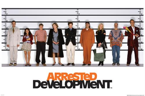 "Arrested Development – Line Up Poster 24"" x 36"" Image"