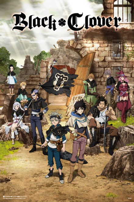 """Black Clover – One Sheet Poster 24"""" x 36"""" Image"""