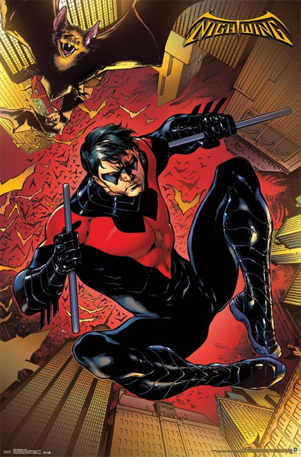 "Nightwing Poster - 22.375""' x 34""' Image"