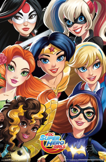 "DC Super Hero Girls Poster - 22.375""' x 34""' Image"