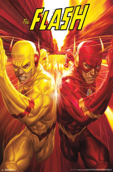 """The Flash Poster - 22.375""""' x 34""""' Image"""