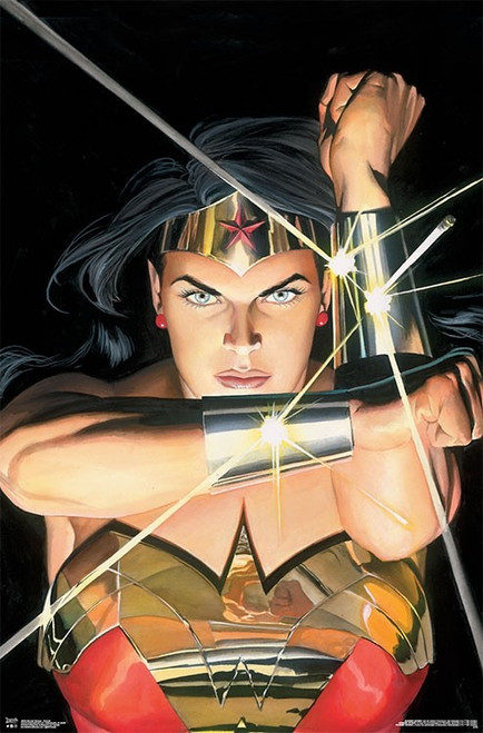 "Wonder Woman Portrait Poster - 22.375""' x 34""' Image"
