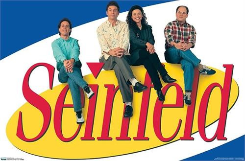 """Seinfeld Poster - 22.375""""' x 34""""' Image"""