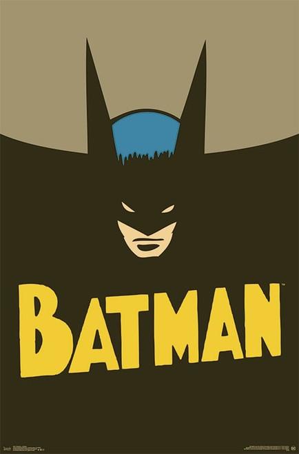 """Batman - Vintage Poster - 22.375""""' x 34""""' Image"""