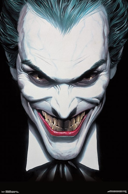 "Joker Portrait Poster - 22.375""' x 34""' Image"