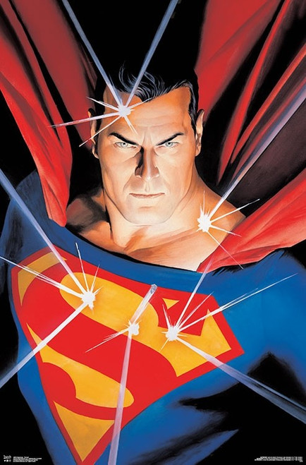 "Superman Portrait Poster - 22.375""' x 34""' Image"